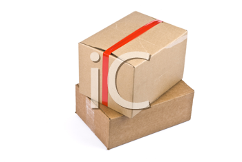 Royalty Free Photo of Cardboard Boxes