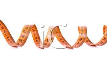 Royalty Free Photo of Curled Measuring Tape