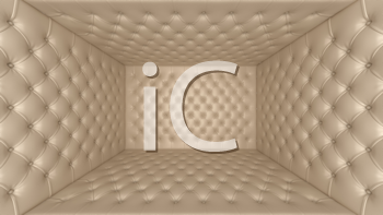 Royalty Free Clipart Image of a Soft Room Concept