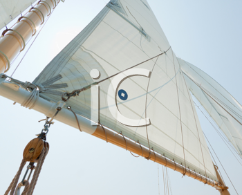 Royalty Free Photo of Sails