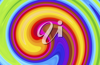 Abstract background with colorful swirl pattern