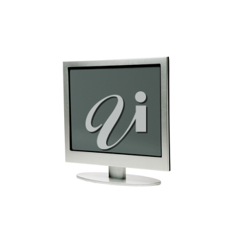Royalty Free Photo of a Computer Monitor
