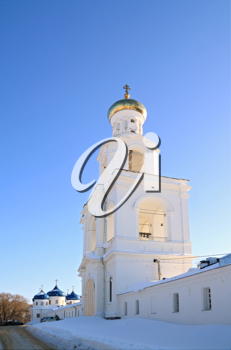 bell tower of the christian orthodox priory