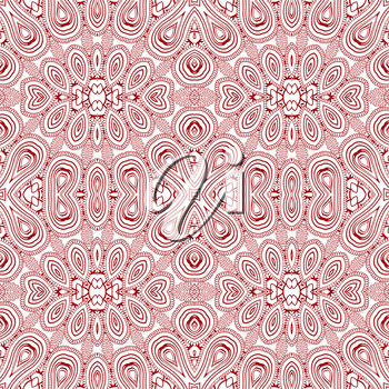 Abstract ornament background, seamless pattern, EPS8 - vector graphics.