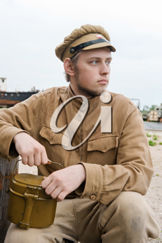 Royalty Free Photo of a Soldier