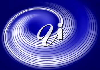 Royalty Free Clipart Image of Vortex Background