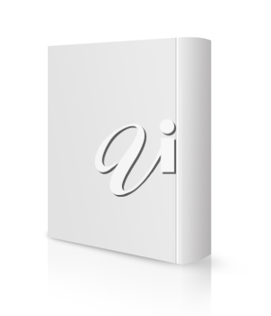 Royalty Free Photo of a White Covered Book