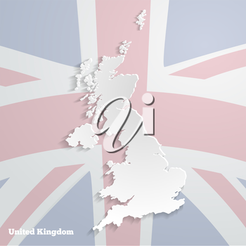 Abstract icon map of  United Kingdom