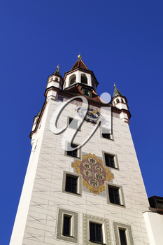 Old town hall (Altes Rathaus), located at Marienplatz square in Munich, Germany