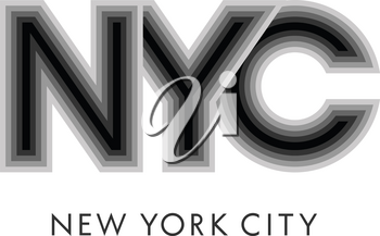 New York vintage typography. NYC lettering. T-shirt graphics. Vectors. Tee graphics