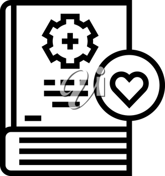 learning soft skill line icon vector. learning soft skill sign. isolated contour symbol black illustration