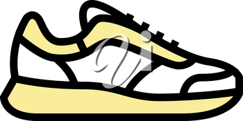 everyday shoe care color icon vector. everyday shoe care sign. isolated symbol illustration