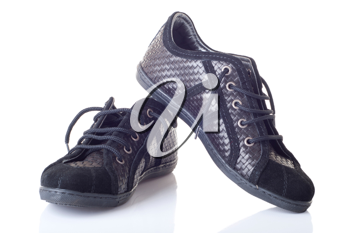 Royalty Free Photo of Leather Shoes