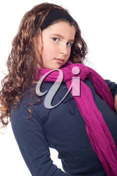 Royalty Free Photo of a Little Girl Posing