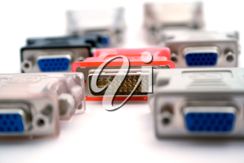 Royalty Free Photo of Adapters