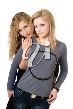 Royalty Free Photo of Two Girls