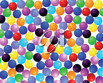 Royalty Free Clipart Image of a Colorful Background
