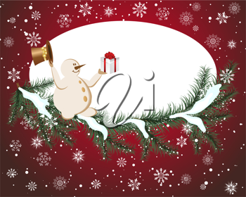 Christmas  background. EPS 10 Vector illustration  with transparency and meshes.