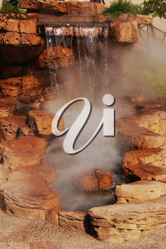 Royalty Free Photo of a Scenic Waterfall