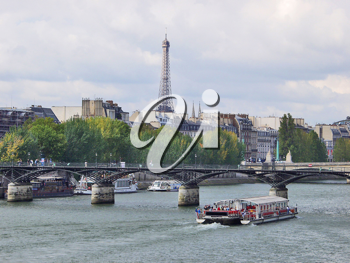 Royalty Free Photo of a Boat in Paris