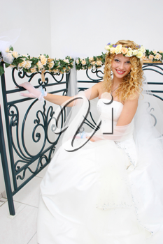 Royalty Free Photo of a Smiling Bride
