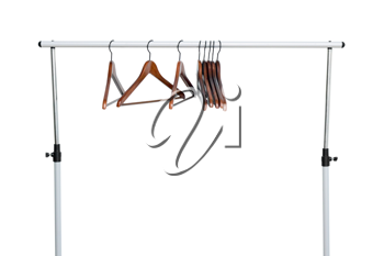 Royalty Free Photo of Hangers