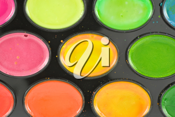 Royalty Free Photo of Watercolour Paints