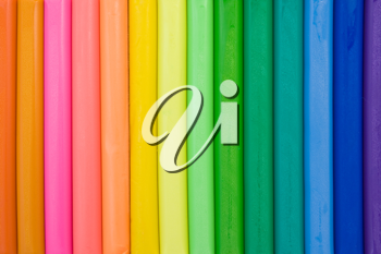 Royalty Free Photo of Colorful Clay