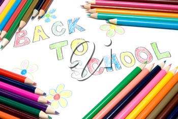 Royalty Free Photo of a Back to School Sign