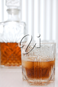 Royalty Free Photo of a Glass of Whiskey