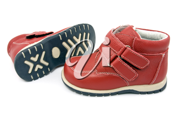 Royalty Free Photo of a Pair of Baby Shoes