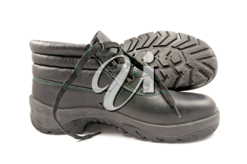 Royalty Free Photo of Work Shoes