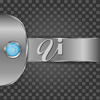 Royalty Free Clipart Image of a Power Button