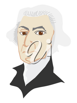 George Washington first president and one of founder of USA. American political leader, military general, statesman, and Founding Father