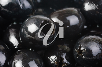 Royalty Free Photo of Black Olives
