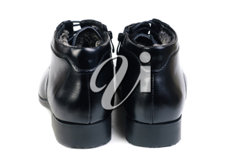 Royalty Free Photo of a Man's Dress Shoes