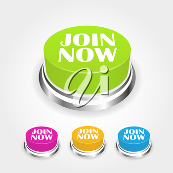Join now button collection