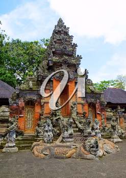 Traditional  Balinese Temple, Indonesia