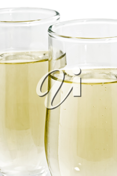 Royalty Free Photo of Two Champagne Glasses
