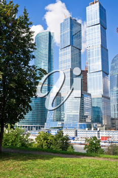 Royalty Free Photo of Skyscrapers