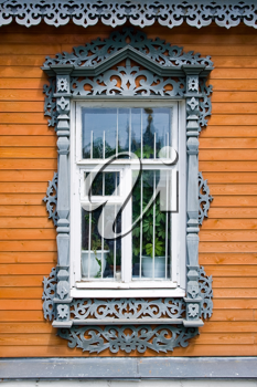 Royalty Free Photo of a Traditional Russian Window