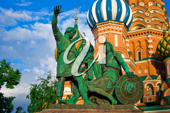 Royalty Free Photo of Pozharsky And Minin Monument in Moscow