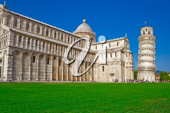 Royalty Free Photo of Piazza Dei Miracoli Square of Miracles in Italy
