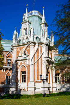 Royalty Free Photo of Tsaricino Mansion in Moscow