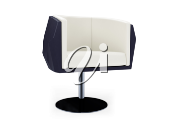 Royalty Free Clipart Image of a Modern Chair
