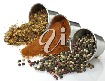 Royalty Free Photo of an Assortment of Spices