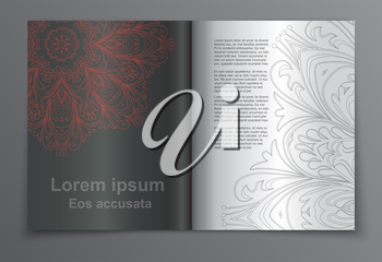 Set of brochure, poster templates. Beautiful design and layout