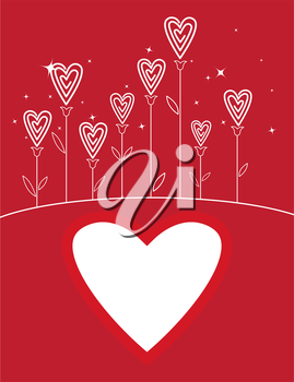 Valentine's love flower