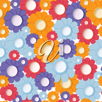 Royalty Free Photo of a Floral Background