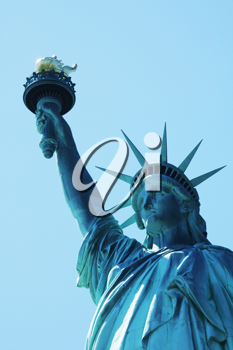 Royalty Free Photo of the Statue of Liberty